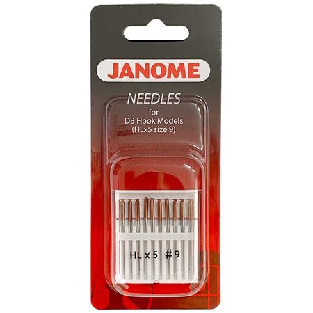 Igły Janome do tkanin - 10 szt. grubość 70 (tylko do modelu Janome 1600P i HD9) - janome 767811000