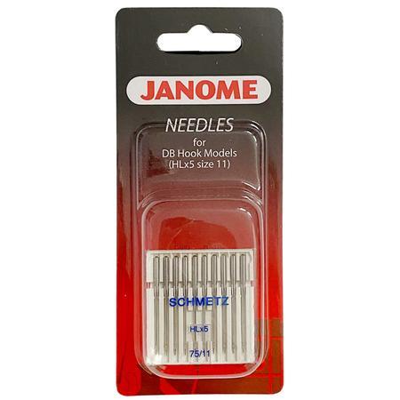 Igły Janome do tkanin - 10 szt. grubość 75 (tylko do modelu Janome 1600P i HD9) - janome 767812001