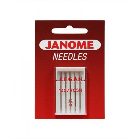 Igły Janome do tkanin - 5 szt. o grubości 90, fig. 1