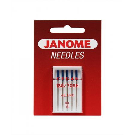 Igły Janome do jeansu - 5 szt. o grubości 90, fig. 1