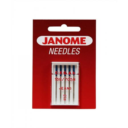 Igły Janome do jeansu - 5 szt. o grubości 110, fig. 1