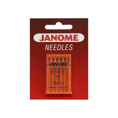 Igły Janome do skór - 5 szt. o grubości 90, fig. 1