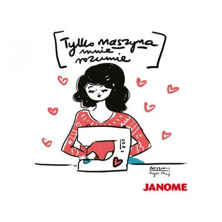 Plakat z porysunkiem Janome 1, fig. 1