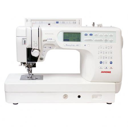 JANOME MC6600P, fig. 1