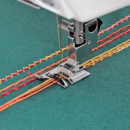 Stopka do naszywania ozdobnych sznurków Janome (rotacyjny 9 mm), fig. 1