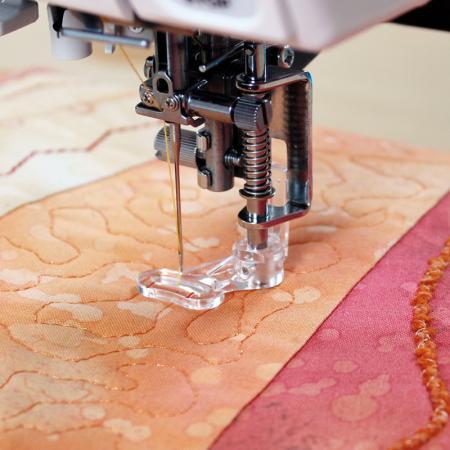 Stopka do pikowania, haftowania i cerowania Janome (rotacyjny 9mm), fig. 1