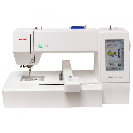 Hafciarka Janome MC400E + program hafciarski Janome Artistic Digitizer JR, fig. 2