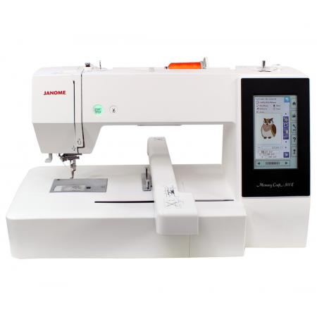 Hafciarka Janome MC500E + program hafciarski Janome Digitizer MBX, fig. 1