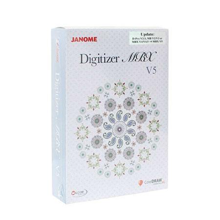 Uaktualnienie starszych wersji programu Janome do wersji Digitizer MBX v5.5, fig. 1