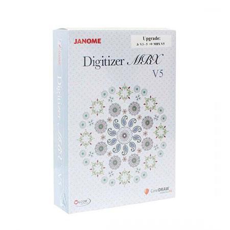 Rozszerzenie programu JANOME DIGITIZER JR do pełnej wersji MBX V5.0, fig. 1