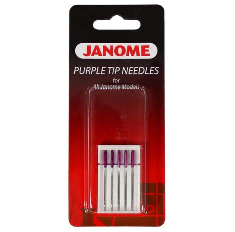 Igły Janome Purple Tip z kulką (5x90), fig. 1