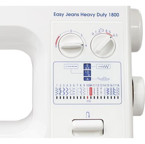 Maszyna do szycia JANOME EASY JEANS HD 1800, fig. 5