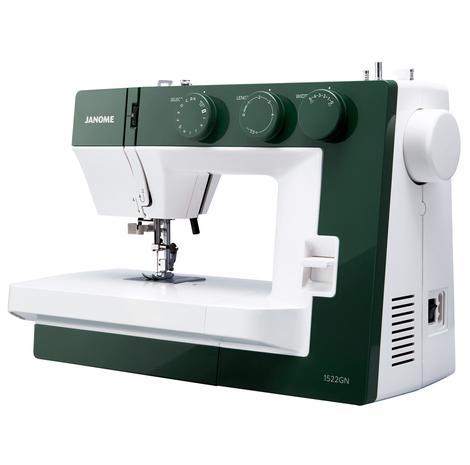 Maszyna do szycia JANOME 1522 GN w kolorze zielonym