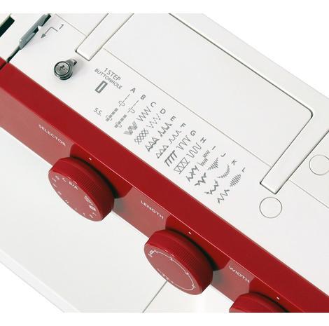Maszyna do szycia JANOME 1522 RD w kolorze czerwonym