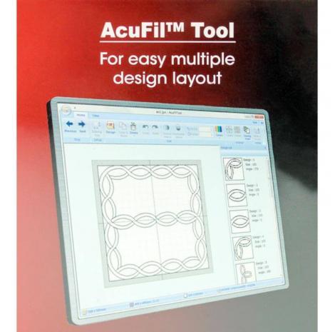Zestaw do pikowania AcuFil do Janome MC400E, MC500E, fig. 4