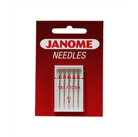 Igły Janome do tkanin - 5 szt. o grubości 60, fig. 1