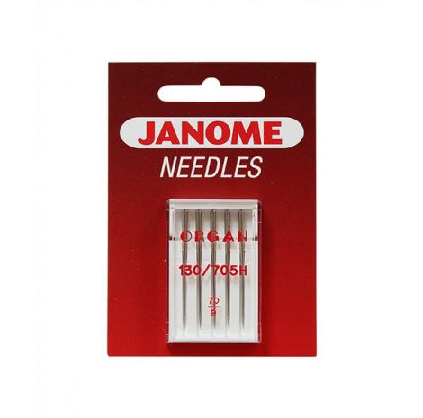 Igły Janome do tkanin - 5 szt. o grubości 70, fig. 1