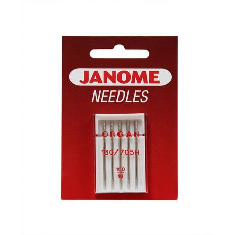 Igły Janome do tkanin - 5 szt. o grubości 100, fig. 1
