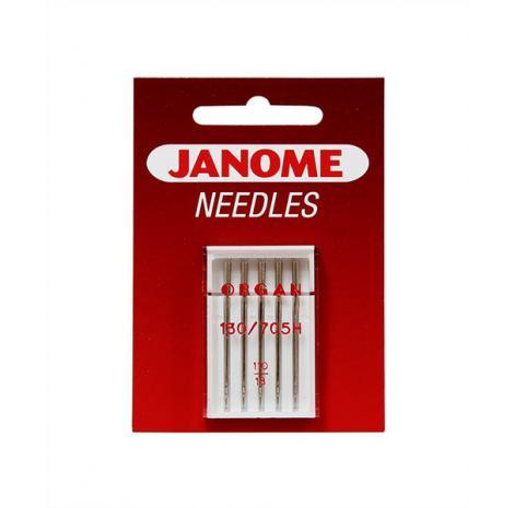 Igły Janome do tkanin - 5 szt. o grubości 110, fig. 1