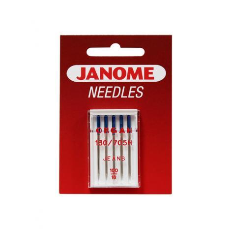 Igły Janome do jeansu - 5 szt. o grubości 100, fig. 1