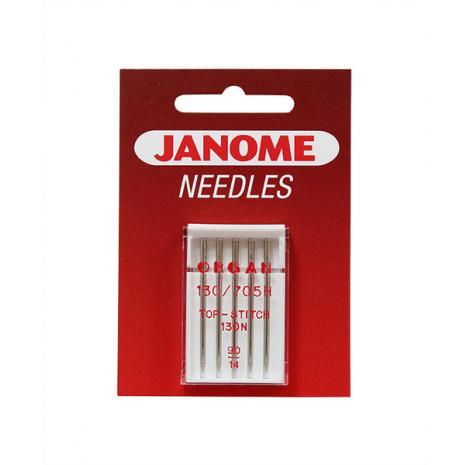 Igły Janome do tkanin - 5 szt. o grubości 90 (ściegi dekoracyjne), fig. 1