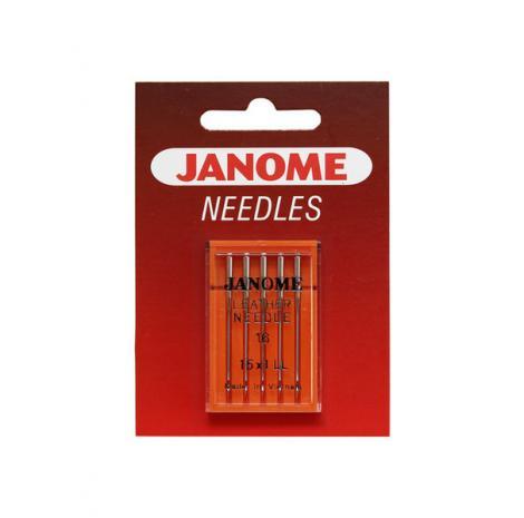 Igły Janome do skór - 5 szt. o grubości 100, fig. 1