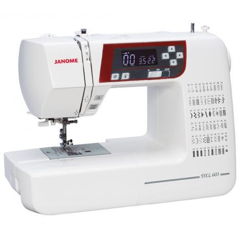 Maszyna do szycia JANOME DXL603, fig. 2