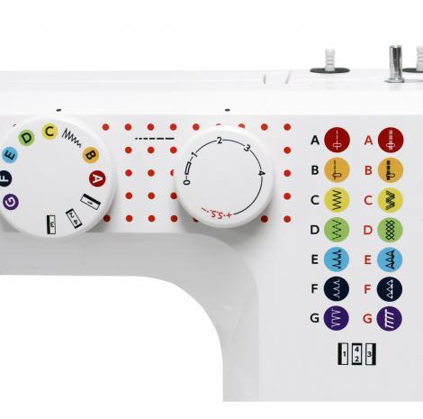 Maszyna do szycia JUNO J15, fig. 4