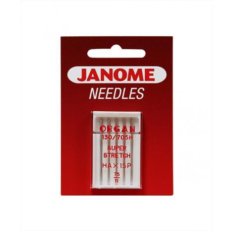 Komplet igieł JANOME 2 (do tkanin, dzianin, igła podwójna), fig. 3