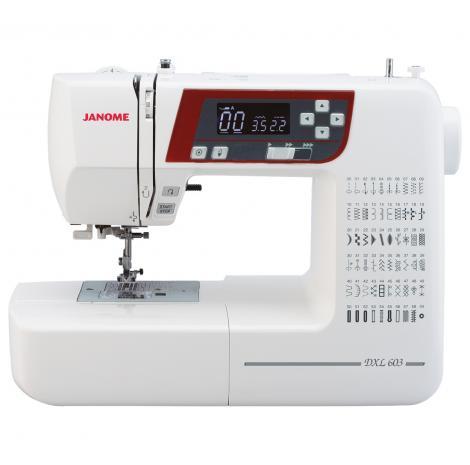 Maszyna do szycia JANOME DXL603, fig. 1