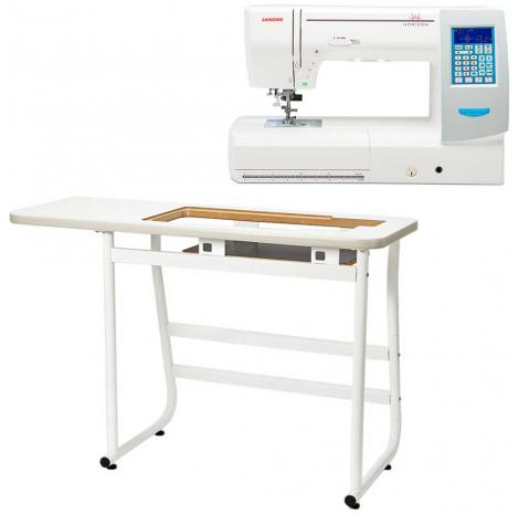 Janome MC8200QCP SE + stół, fig. 1