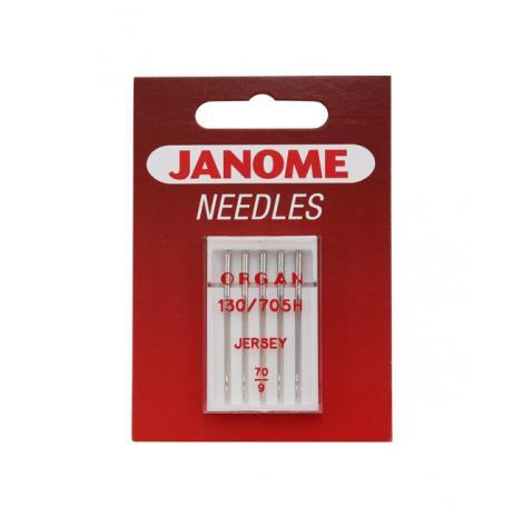 Igły Janome do dzianin i materiałów elastycznych - 5 szt. o grubości 70, fig. 1