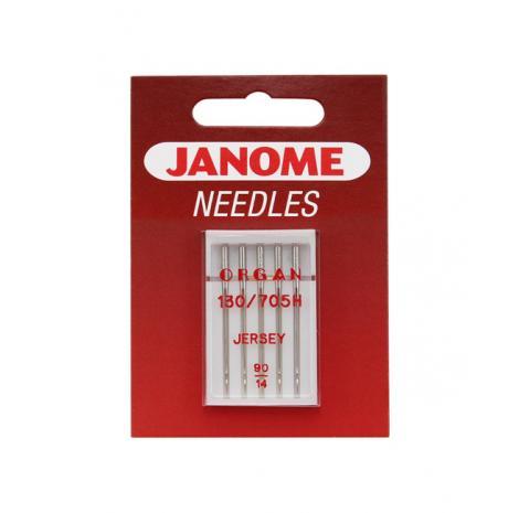 Igły Janome do dzianin i materiałów elastycznych - 5 szt. o grubości 90, fig. 1