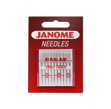 Igły Janome do tkanin - 10 szt. o grubości 70, 80 i 90, fig. 1