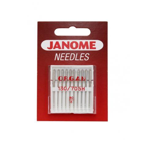 Igły Janome do tkanin - 10 szt. o grubości 60, fig. 1