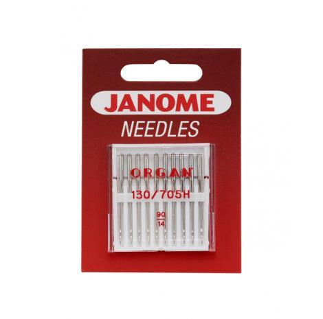 Igły Janome do tkanin - 10 szt. o grubości 90, fig. 1