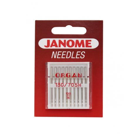 Igły Janome do tkanin - 10 szt. o grubości 100, fig. 1