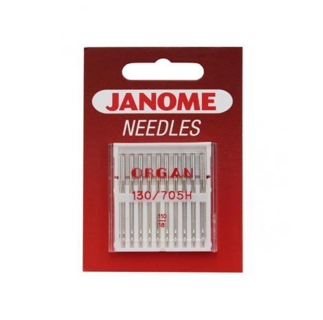 Igły Janome do tkanin - 10 szt. o grubości 110, fig. 1