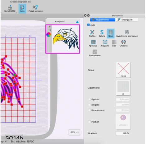 Profesjonalny program do projektowania haftów Janome Artistic Digitizer, fig. 3