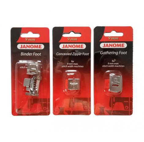 Zestaw stopek Janome 7 (rotacyjny 9mm), fig. 1