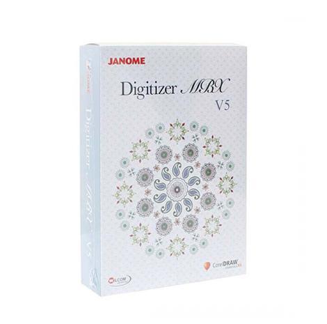 Profesjonalny program do projektowania haftów Janome Digitizer MBX v5.5, fig. 1